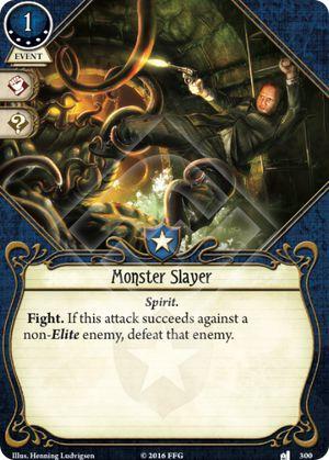 Arkham Horror ArkhamDB Most popular 5XP Card Monster Slayer