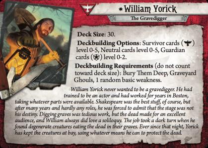 Investigator Focus William Yorick Delve Too Deep