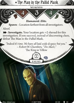 The Man in the Pallid Mask