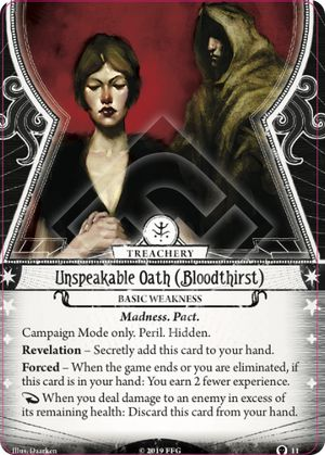 Unspeakable Oath (Bloodthirst)