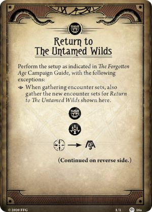 Return to The Untamed Wilds