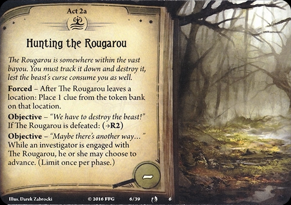 the rougarou I'm assuming rougarou ii will clear up any story lines that were left hanging, but this book has a definition conclusion and most were taken care of if the reader reads closely this book is not perfectly edited, but there is no such thing as a perfect book.